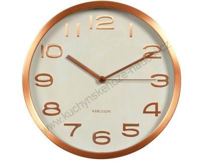 Nástěnné hodiny numbers 29 cm - Karlsson