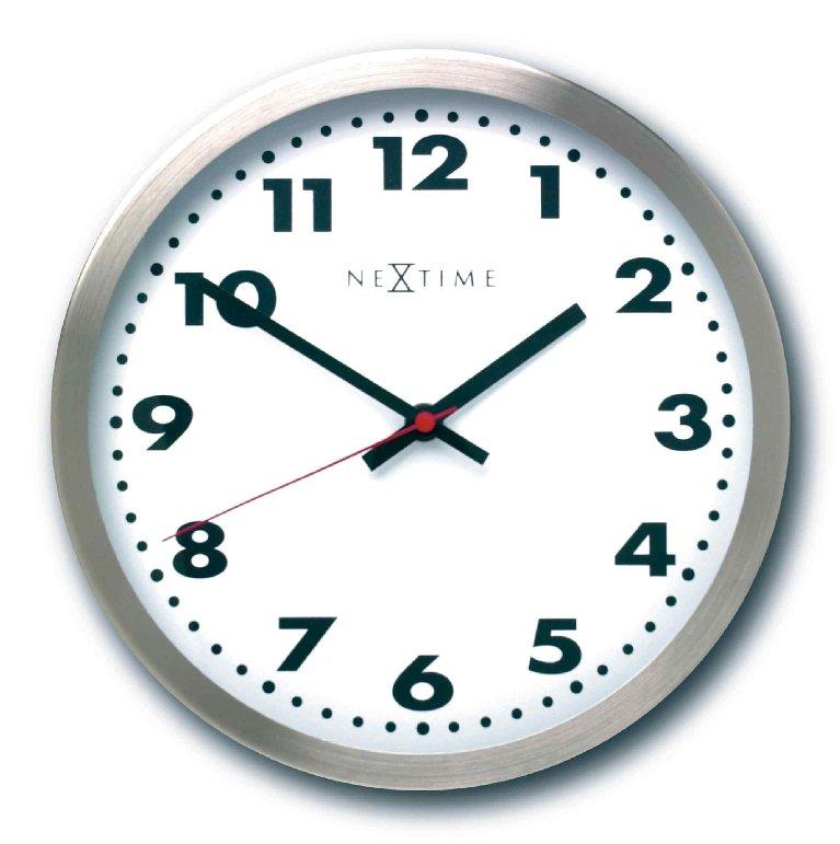 Nástěnné hodiny ARABIC gold/black 45 cm - NEXTIME