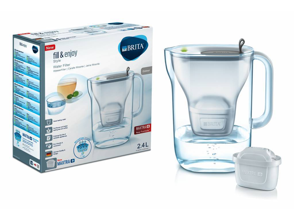 Filtrační konvice Style Maxtra Plus 2,4 l + 2 filtry- Pohlreich Selection-Brita