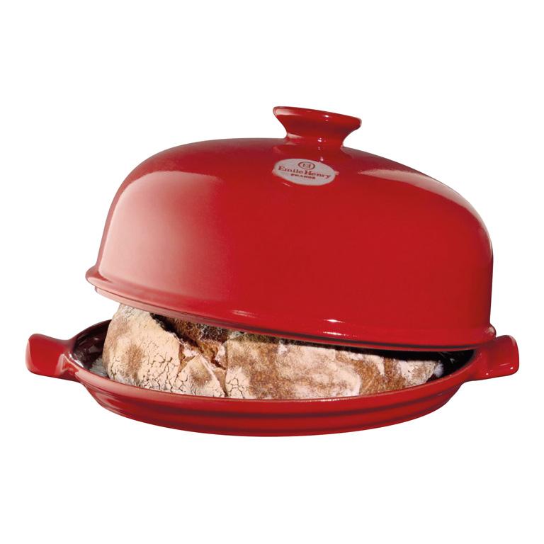 Forma na pečení chleba Burgundy granátová červená E-BALENÍ 33x28 cm- Emile Henry