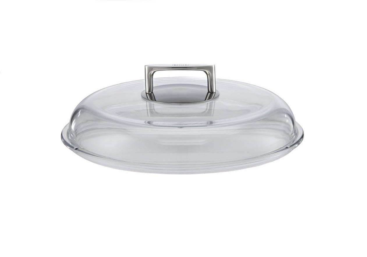 Borosilikátová skleněná poklice Cookware Silence 32 cm - Rösle