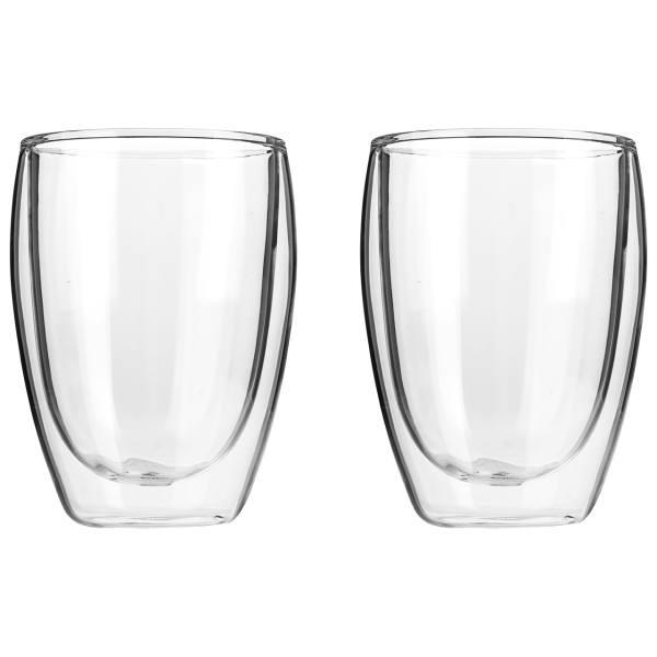 Dvoustěnné sklenice na espreso 350 ml, 2 ks - Cilio