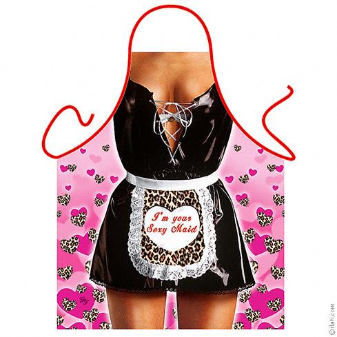 Kuchyňská Zástěra Sexy maid - ETS-Itati