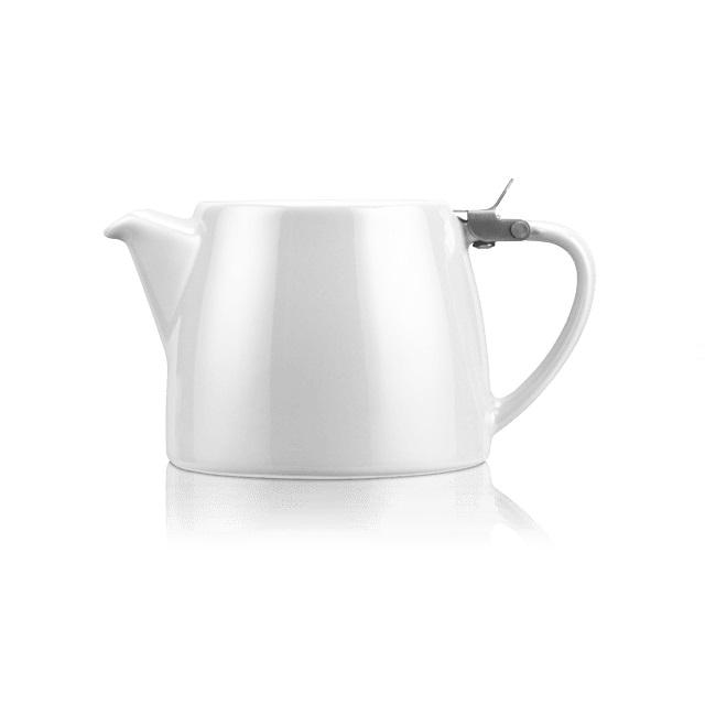 Porcelánová konvička na čaj Stump 0,55 l bílá - ForLife