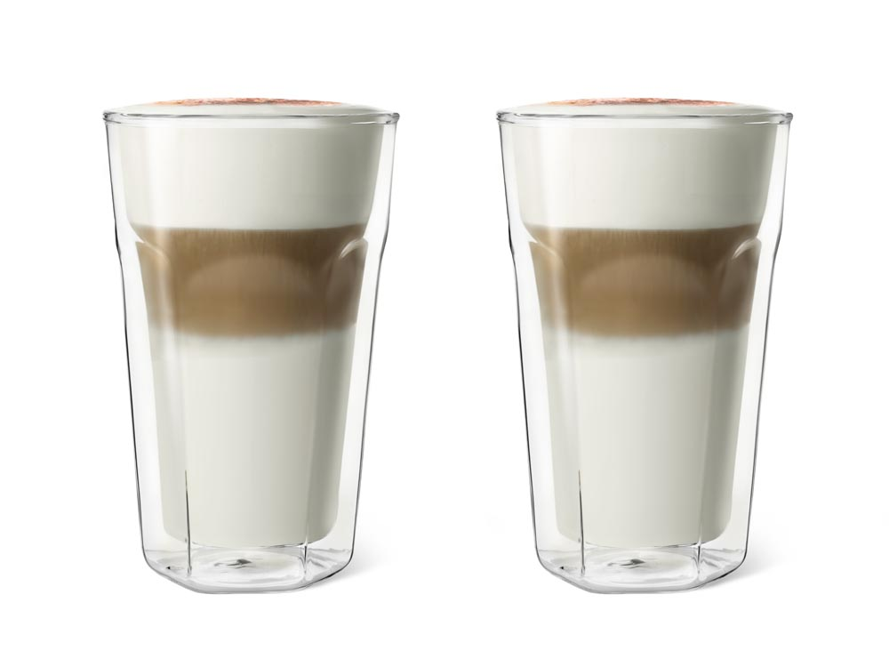 Dvoustěnná sklenice na Latte Macchiato 350 ml 2ks - Leopold Vienna
