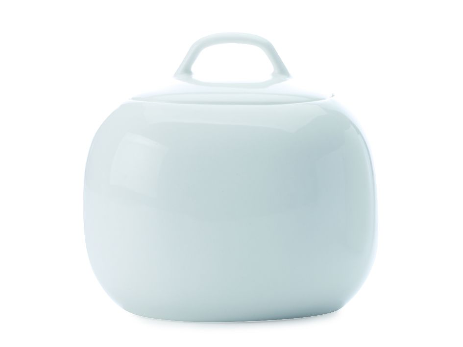 Porcelánová cukřenka White Basics Bisou 350 ml - Maxwell&Williams