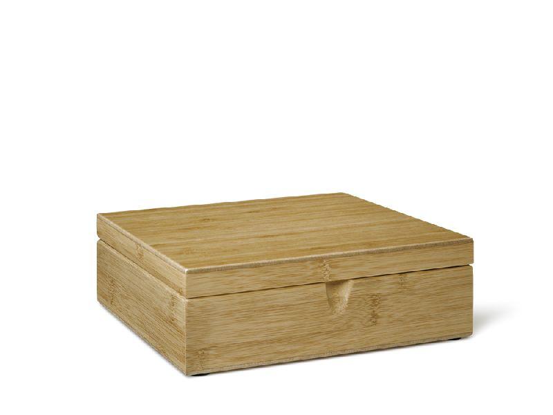 Krabička na porcovaný čaj 6 přihrádek Bamboo - Bredemeijer
