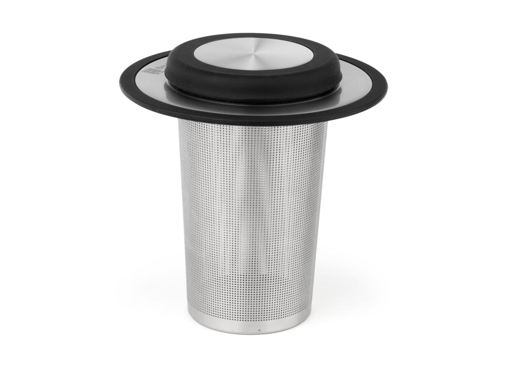 Sítko na čaj s podstavcem XL nerezové - Bredemeijer