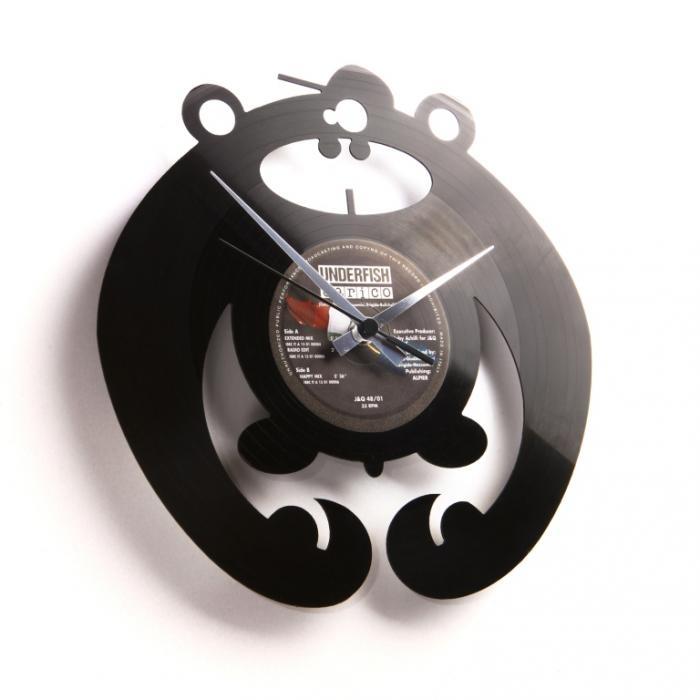 Nástěnné hodiny KING OF THE BONGO - Discoclock
