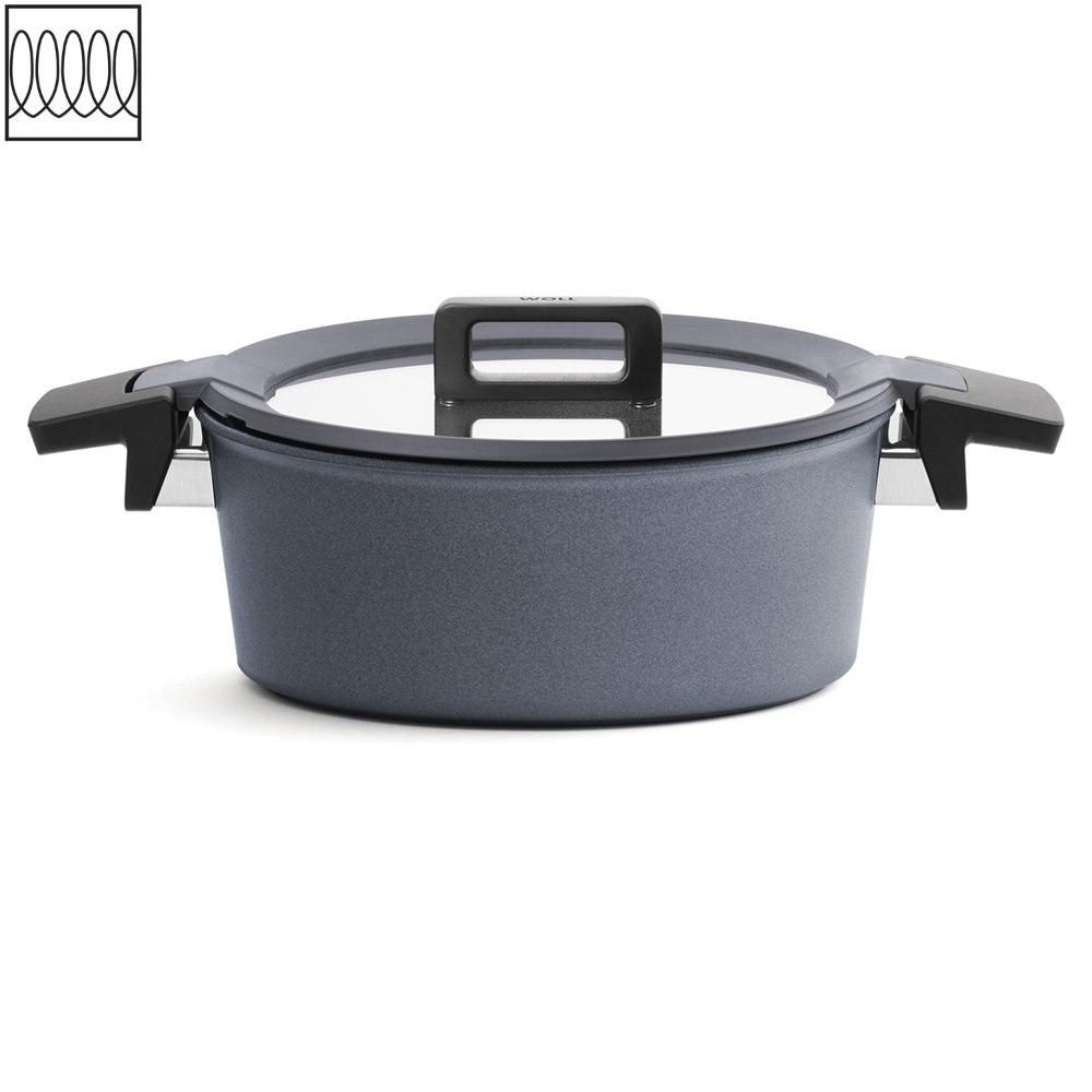 Titanový Kastrol Concept plus Induction s poklicí 24 cm na indukci - WOLL
