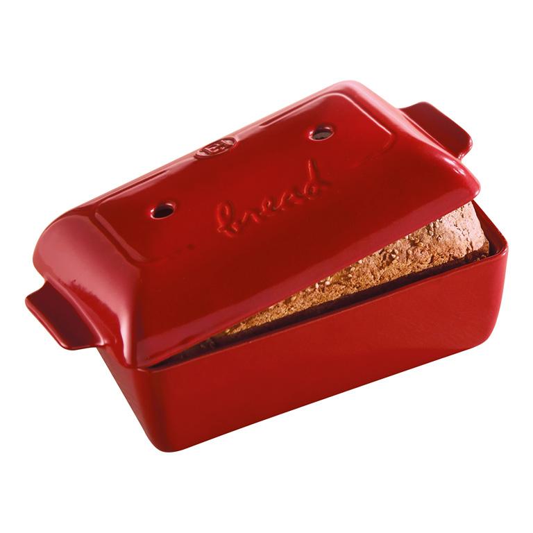 Forma na pečení chleba Burgundy granátová červená 24 x 15 cm - Emile Henry