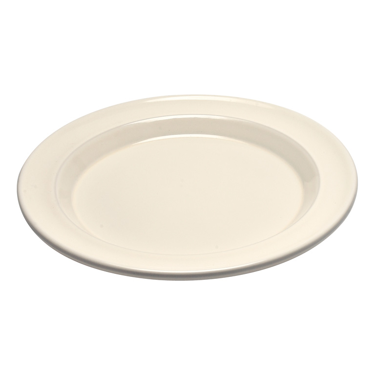 Talíř jídelní 28 cm Clay krémový - Emile Henry