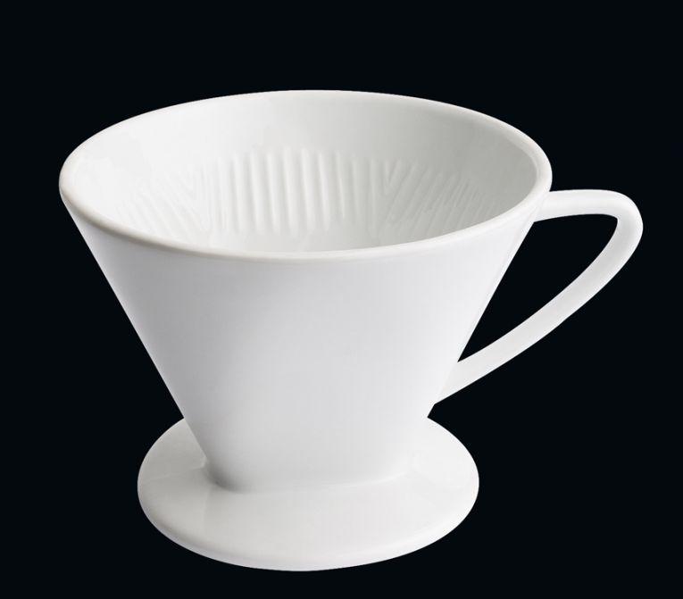Filtr na kávu velikost 6 bílý - Cilio