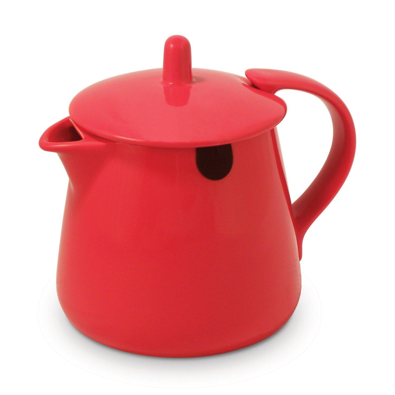 Keramická konvička na čaj Teabag 0,35 l červená - ForLife