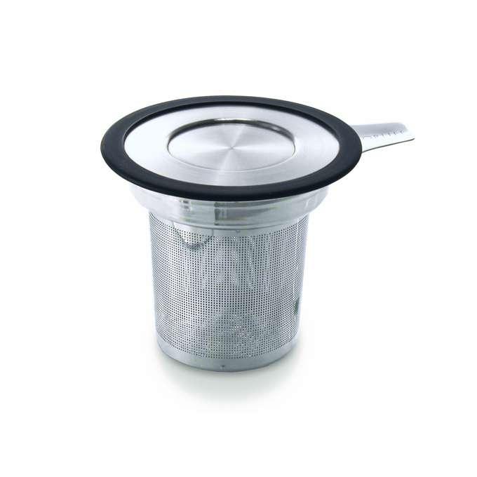 Nerezové Sítko na čaj s pokličkou a odkladačem - ForLife