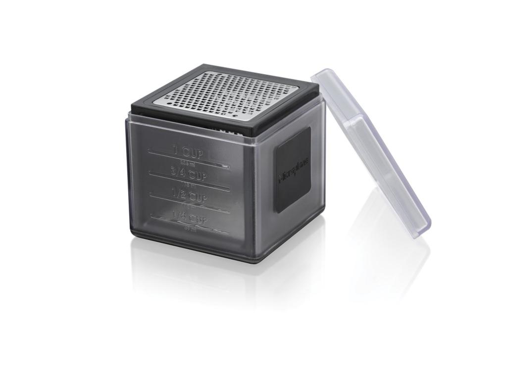 Multifunkční malé struhadlo kostka černé - Microplane