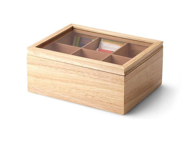 Krabička na porcované čaje 23 x 17,5 cm - Continenta