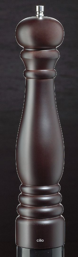 Mlýnek na pepř ROMA marone hnědý 30 cm - Cilio