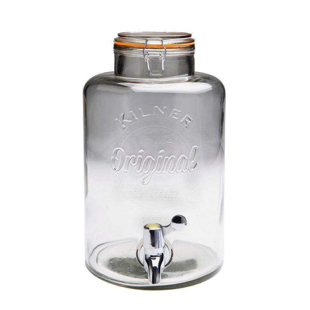 Skleněný nápojový automat s kohoutkem 8,0l - Kilner