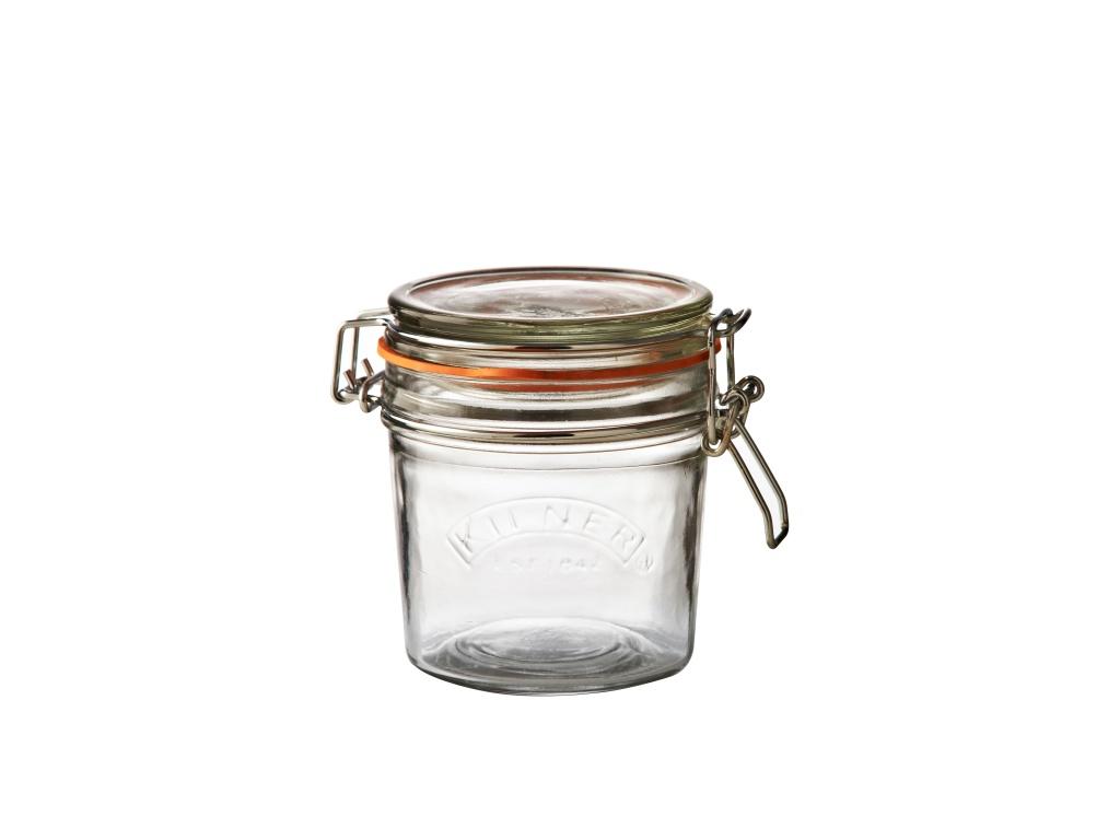 KILNER zavařovací sklenice s klipem 0,35l kulatá - Kilner