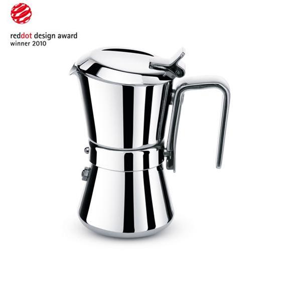 Kávovar Giannina Family na 6 šálků 300 ml s redukcí na 3 šálky - Carlo Giannini