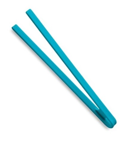 Silikonová obracecí pinzeta New Factotum modrá - Carlo Giannini
