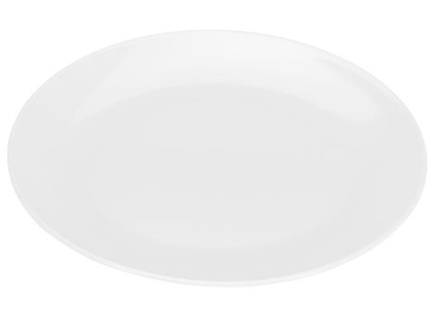 COLOURS Mělký talíř 6ks bílá - Carlo Giannini