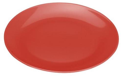 COLOURS Mělký talíř 6ks červený - Carlo Giannini