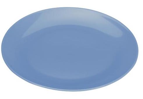 COLOURS Mělký talíř 6ks modrý - Carlo Giannini