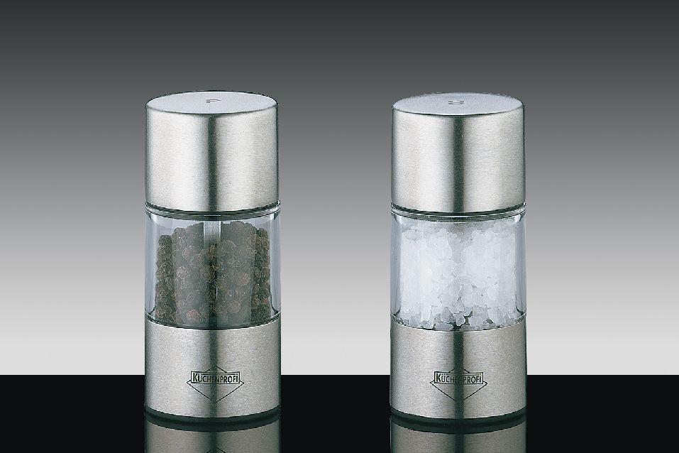 Set mlýnků na pepř a sůl VIENNA 8,5 cm - Küchenprofi