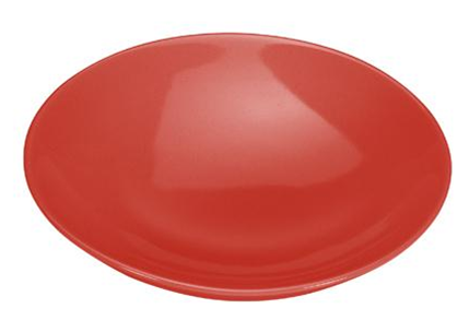 COLOURS Polévkový talíř 6ks červený - Carlo Giannini
