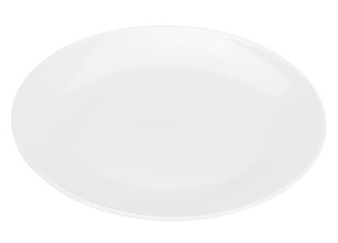 COLOURS Servírovací talíř bílý - Carlo Giannini
