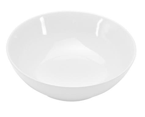 COLOURS Salátová mísa 23 cm bílá - Carlo Giannini