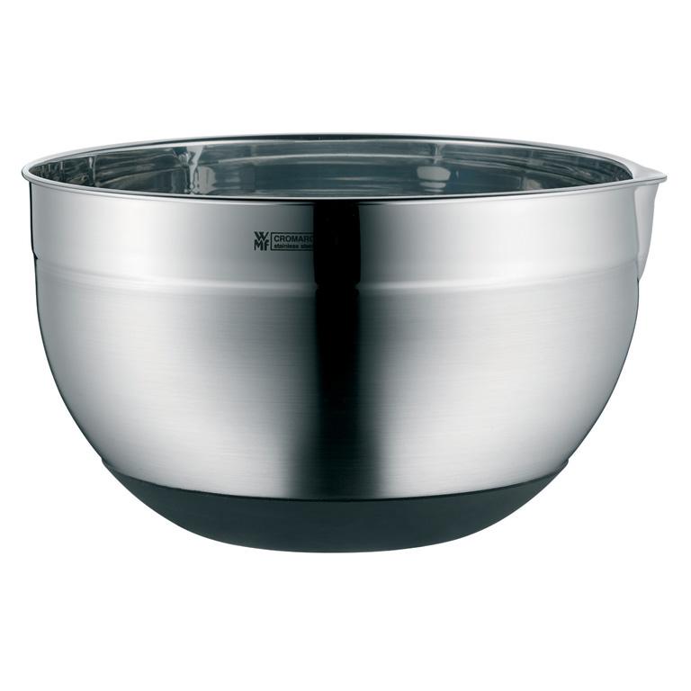 Kuchyňská nerezová miska 20 cm se silikonovým dnem - WMF