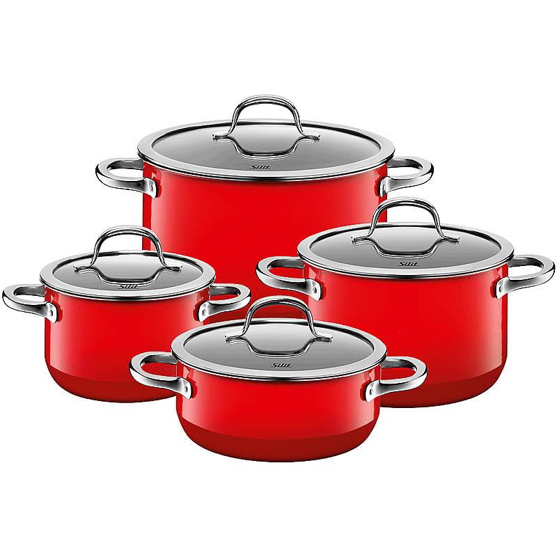 Sada nádobí Passion Colours Red 4-díly - Silit