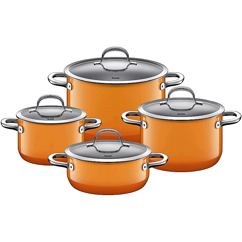 Sada nádobí Passion Colours Orange 4-díly - Silit