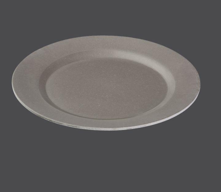 Mělký talíř ECOLINE Ø 25 cm, šedá - Zassenhaus