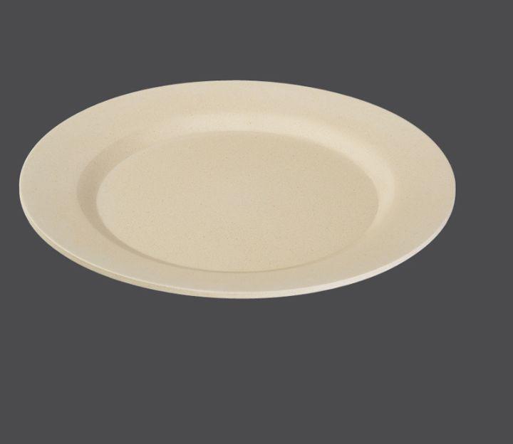 Mělký talíř ECOLINE Ø 25 cm, krémový - Zassenhaus