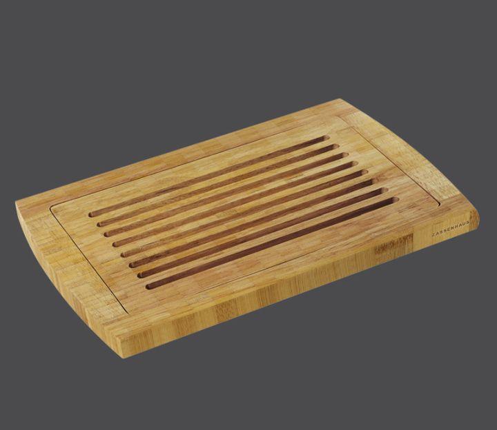 Prkénko na krájení chleba 42 x 28,5 x 2 cm, bambus - Zassenhaus