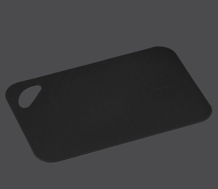 Flexibilní krájecí podložka 38 x 29 x 0,2 cm, černá - Zassenhaus