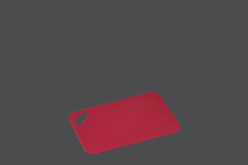 Set 2 ks flexibilních krájecích podložek 29 x 19 x 0,2 cm, červené - Zassenhaus