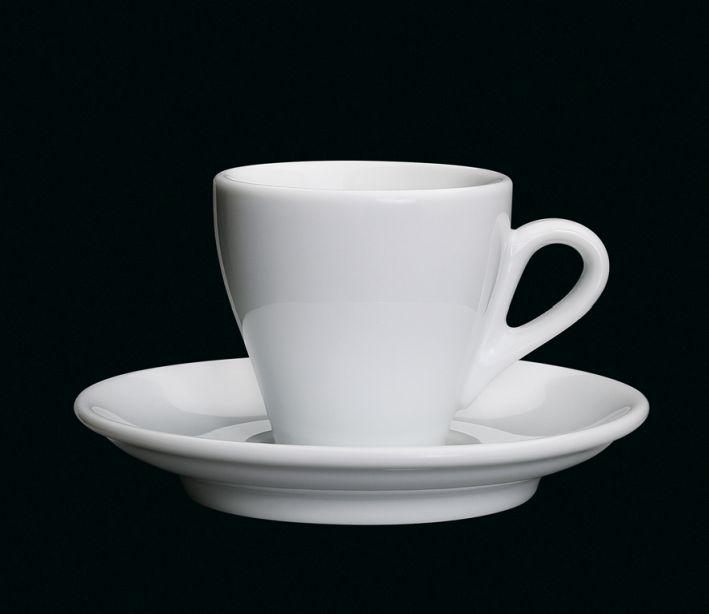 Porcelánový šálek na espresso Milano bílý 50 ml - Cilio