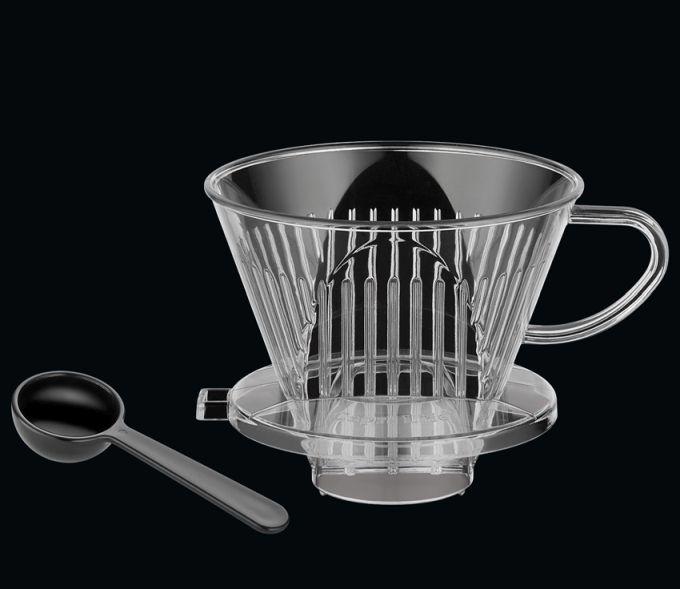 Filtr na kávu velikost 4, plast - Cilio