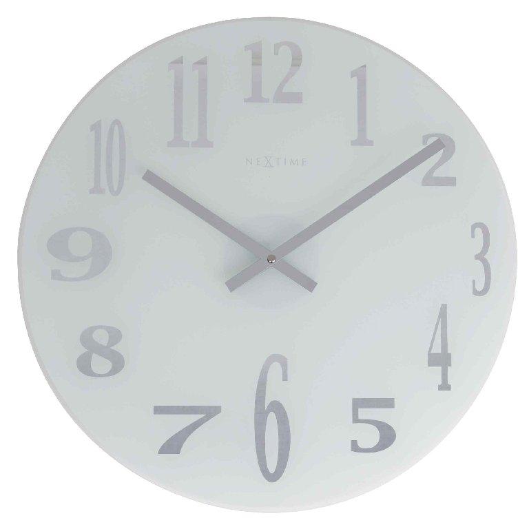 Nástěnné hodiny MIRROR GLASS 43 cm - NEXTIME