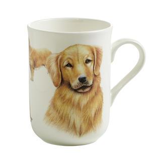 Porcelánový Hrnek Cashmere PETS pes Zlatý retrívr 300 ml - Maxwell&Williams