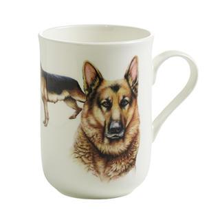 Porcelánový Hrnek Cashmere PETS pes Ovčák 300 ml - Maxwell&Williams