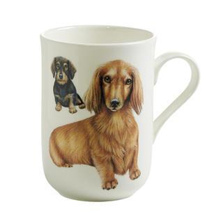 Porcelánový Hrnek Cashmere PETS pes Jezevčík 300 ml - Maxwell&Williams