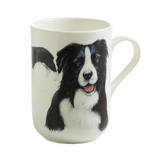 Porcelánový Hrnek Cashmere PETS pes Border kolie 300 ml - Maxwell&Williams