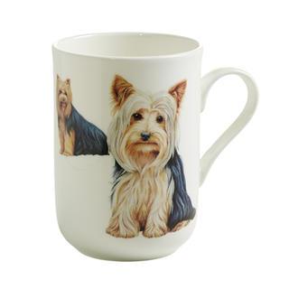 Porcelánový Hrnek Cashmere PETS pes Jorkšírský teriér 300 ml - Maxwell&Williams