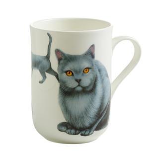 Porcelánový Hrnek Cashmere PETS CAT kartouzská kočka 300 ml - Maxwell&Williams